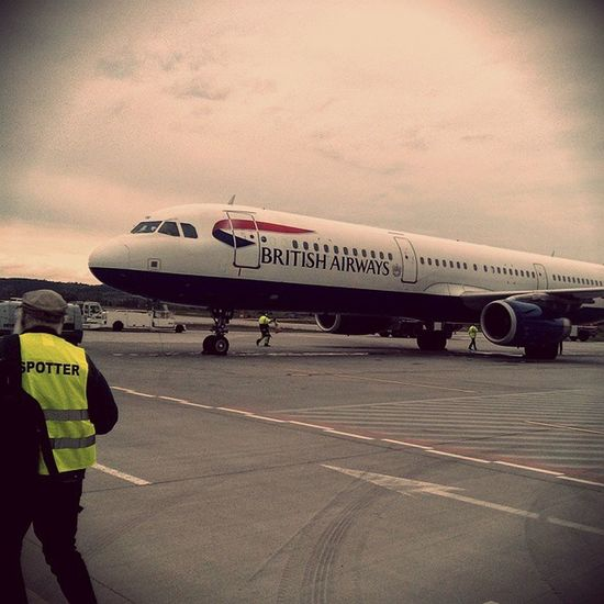 British Airways na Balicach :) Krakowairport GamonCieszySieSwiatem