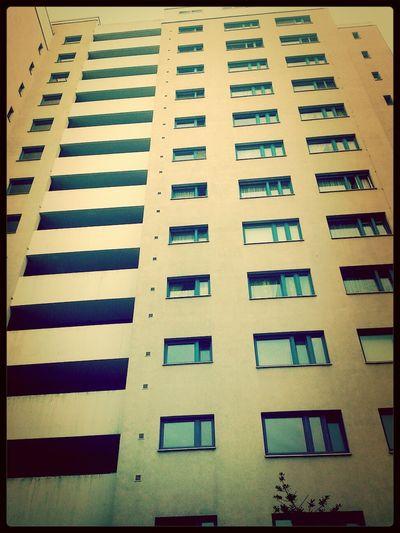 Hochhäuser Depressiv Stadtleben