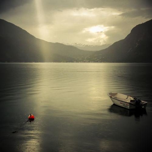 rowboat and