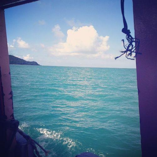 สู่ความเวิ้งว้างอันไกลโพ้นน..🐳🐒🌴 เกาะเสม็ดที่เป็นญาติกับเกาะเกร็ด เลอะเทอะ 😂🐋💦🌐🌊🏄🏽
