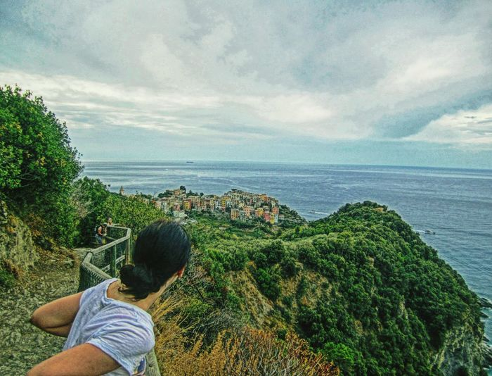 Cinque Terre Cinque Terre Liguria Lookout Lookout Mountain Hikingadventures Hiking Trail Colorful Houses Crayon Art. Italy❤️ Italian Landscapes Showcase July Showcase July 2016 EyeEm Best Shots EyeEm Nature Lover EyeEm Best Edits Eye4photography  EyeEmBestPics EyeEm Gallery EyeEm Best Shots - Landscape On The Way