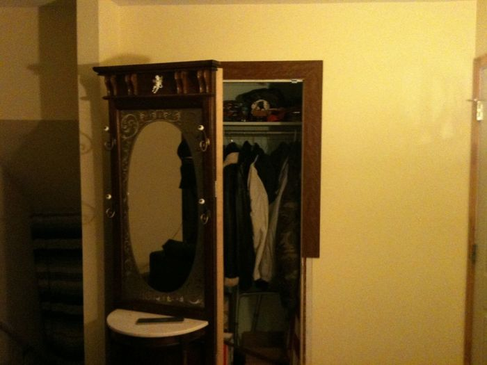 It's my closet door, I'm stoked about it and I was told it can't be done Ha ha