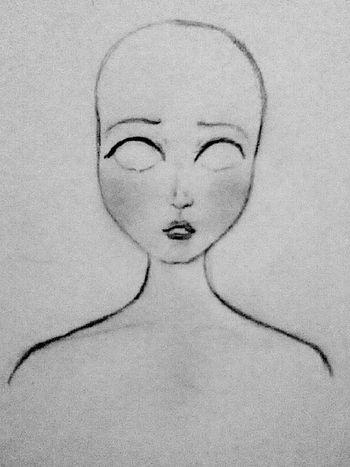 Starting a new one Art Draw Drawing Process Pencil Art