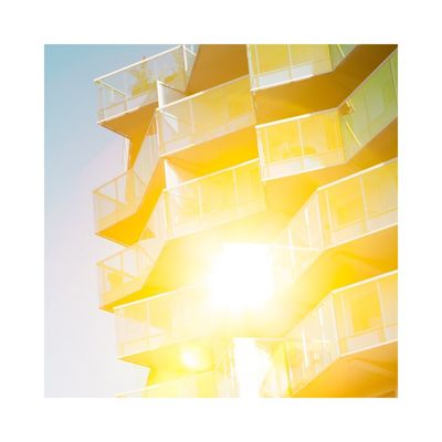 Yellow Abstract No People Architecture Day Natural Light Light And Shadow Façade Minimalism Fine Art Photography Contemporary Art City Geometric Shape Graphic Outdoors Photography Colors
