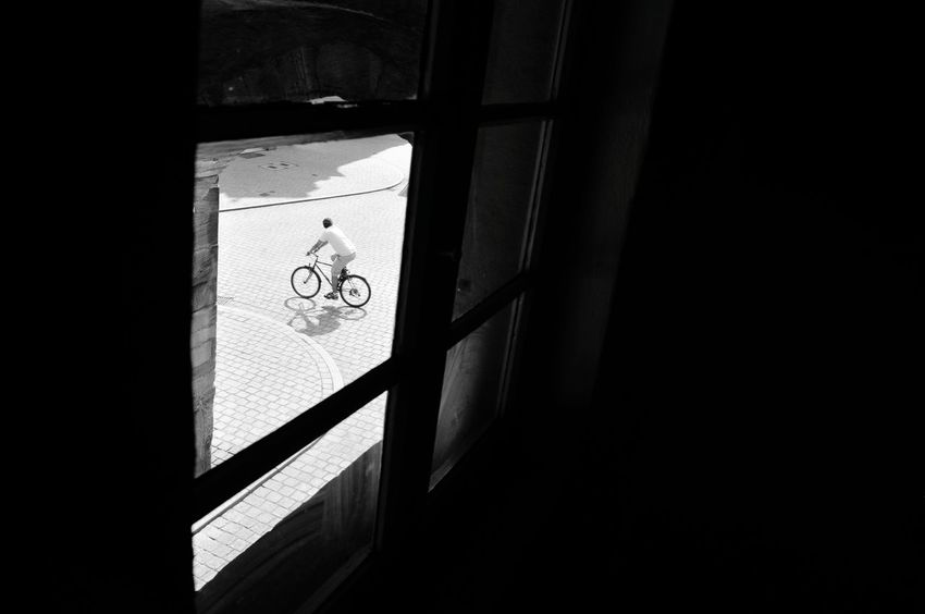 Bycicle Bycicle Lovers Street Blackandwhite Differing Abilities Physical Impairment Communication Human Representation Guidance Architecture Vehicle Street Scene