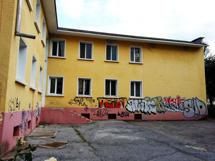 KindergARTen. Bulgaria Kindergarten Graffiti Art