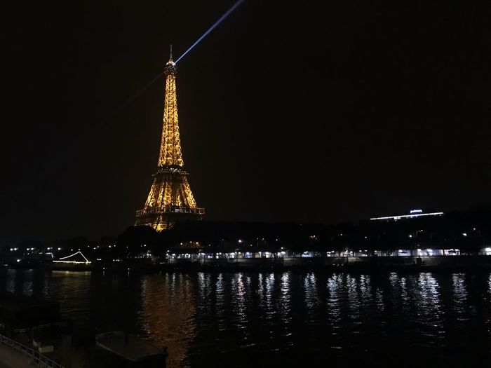 Paris Followforfollow Followme Like4like Nigthphotography Nigthpicture Travel Photography Traveling Seineriver Illuminated Night Architecture Built Structure Water Building Exterior Sky Reflection No People River Travel Destinations Tower Waterfront City Nature Outdoors Building Glowing Spire