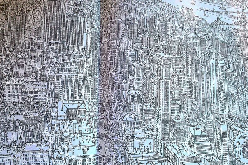 Pages of New York Pencilled Greyscale Art