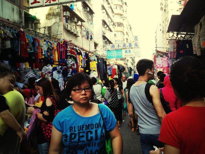 Street Market Bargaining Haggling
