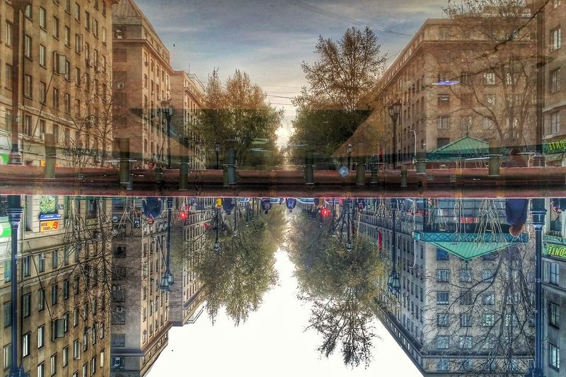 Invert your future to see the different ways. Architecture Built Structure Building Exterior Reflection Water Waterfront Tree City Sky Day Canal Old Town Outdoors City Life No People Surface Level Water Surface Cloud - Sky