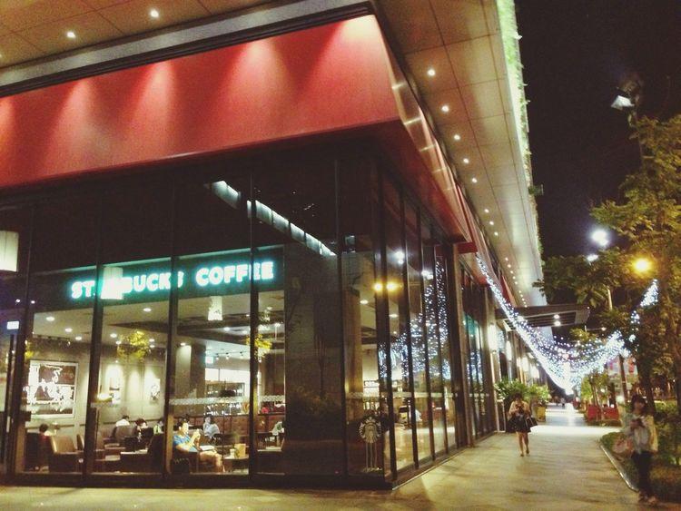 Starbucks City Night Lights