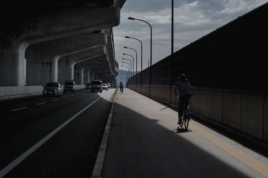 Transportation Architecture Mode Of Transportation Built Structure Motor Vehicle Land Vehicle Road City Street The Way Forward Bridge Bicycle A New Perspective On Life