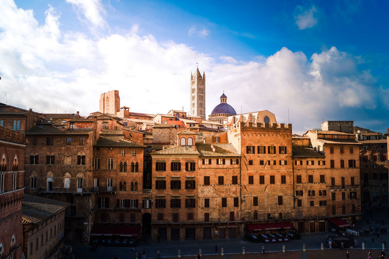 View of Siena,