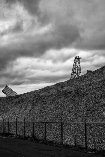 Aberdeen, Washington/USA Blackandwhite Cloud - Sky Cloudy Industry New Topographics No People Scenics