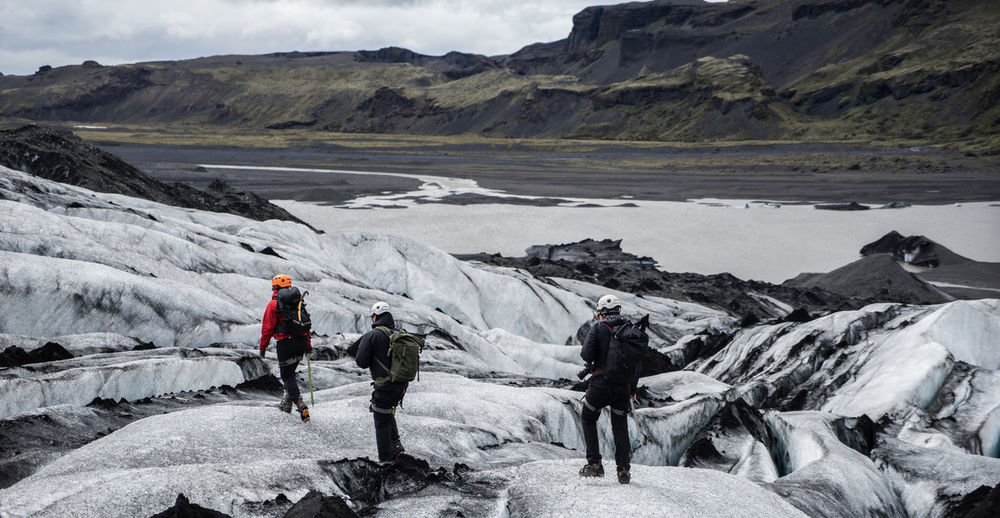 Teammate Adventure Adventure Buddies Cold Day Geology Hill Iceland Landscape Mountain Mountain Range Non-urban Scene Physical Geography Rock Rock Formation Rocky Scenics Snow Tranquil Scene Tranquility Winter