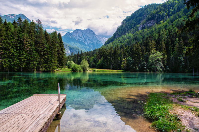Jezersko EyeEm Nature Lover Slovenia Beauty In Nature Cloud - Sky Day Idyllic Jezersko Lake Lake View Mountain Mountain Range Nature No People Non-urban Scene Outdoors Plant Reflection Remote Scenics - Nature Sky Tranquil Scene Tranquility Tree Water