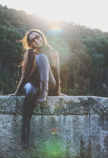 Smile Sunglasses Model Autumn