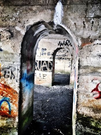Ore Refinery Architecture Built Structure Graffiti Abandoned Day Building Exterior No People