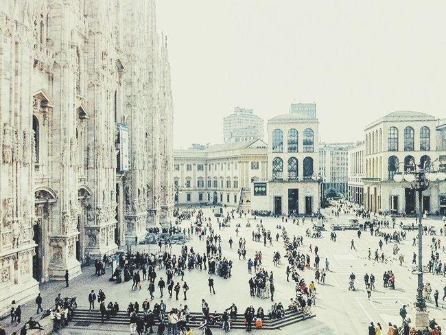 Milano Piazza Del Duomo Milan