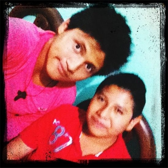 I. Hére. With my cousin. Doing nothing :)