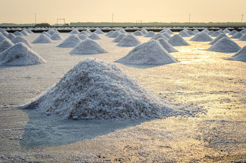 Nature Salt Flat Mineral No People Day Outdoors Land Landscape In A Row Salt Basin Salt - Mineral Tranquility Environment EyeEm Nature Lover Eyeem Travel Salt Many EyeEm Gallery