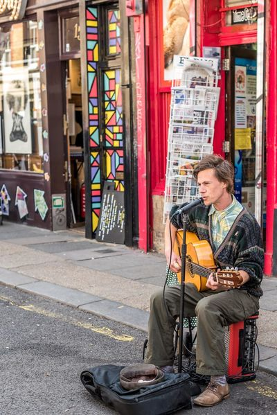 Columbia Road Flower Market Art Casual Clothing Cultures Day Guitar Guitarist Leisure Activity Lifestyles Musician Passion Singer  Singing My Heart Out Streetphotography The Street Photographer - 2016 EyeEm Awards