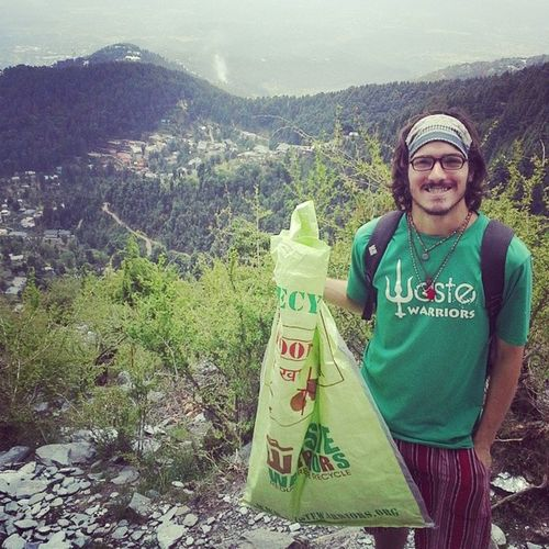Joined up with the Waste Warriors in Dharamsala Environmentaleducation Volunteering Dharamsala india permatravel hiking