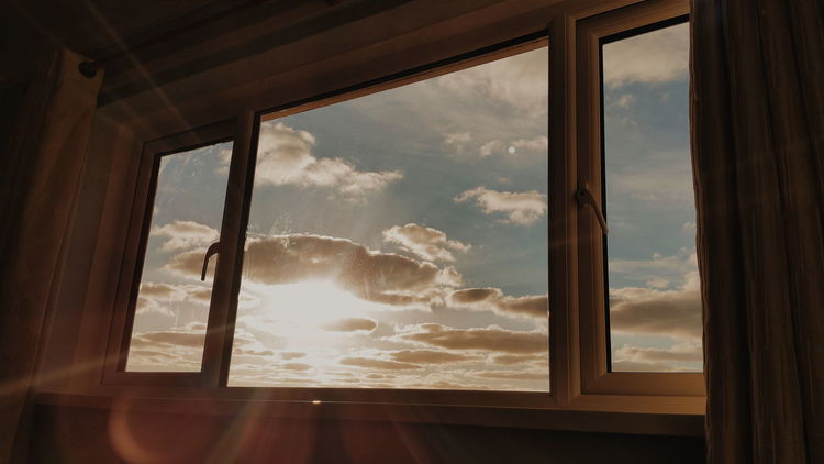 Sky Through Window Playing With Filters Eye4photography  EyeEmBestPics Window Dreamy♡ Sky And Clouds Check This Out
