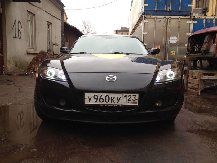 Car Eyes Mazda Rx8