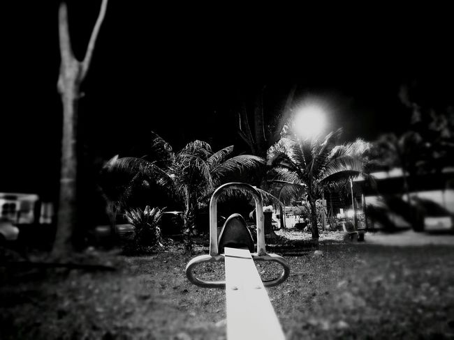 Night No People Playground