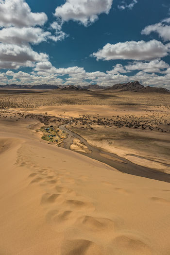 Mongolia Sky Landscape Environment Scenics - Nature Cloud - Sky Desert Sand Land Beauty In Nature Tranquil Scene Tranquility Climate Non-urban Scene Arid Climate Nature Remote Sand Dune Day No People Idyllic Outdoors Atmospheric Semi-arid