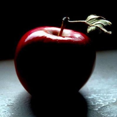 Apple Manzana Sombra Shadow Red Rojo Luz Contraluz Matiz Bnx
