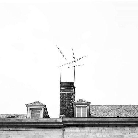 Photograhy Blackandwhite Roof Amiens France