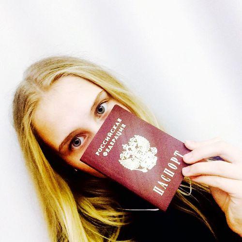 Наконец-то есть паспорт теперь всё можно❤️ Pasport