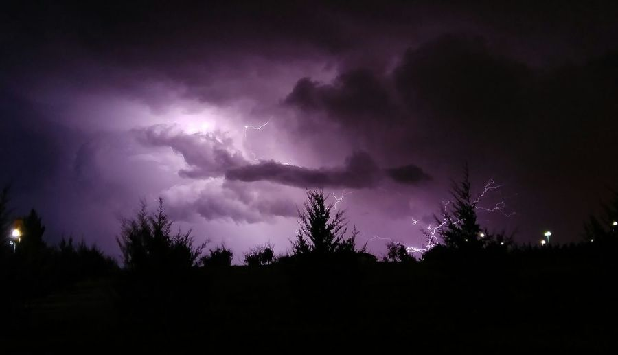 A shot from last night's storms that went through Amarillo. PhonePhotography Photography Lightning Storm