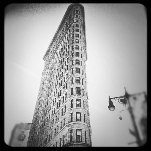 NYC Blackandwhite New York Flatiron Building USA Manhattan Cityworldwide