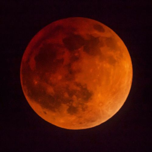 Blood Moon Blood Moon Eclipse Lunar Eclipse Art Is Portable With Caseable