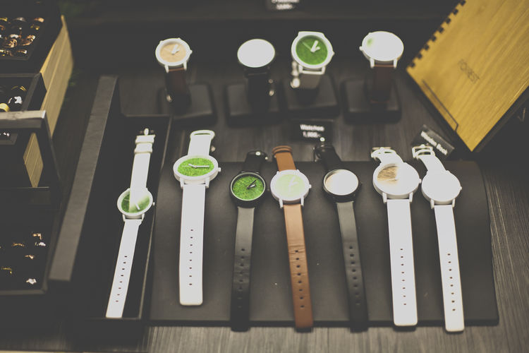 Abundance Arrangement Art And Craft Product Choice Close-up Colorful Focus On Foreground In A Row Jewelry Large Group Of Objects Man Made Object Multi Colored No People Tray Variation Watch Watches