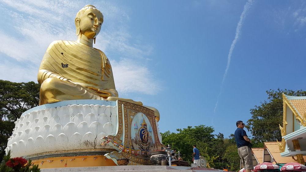 Thai Bhuda Statue พระพุทธรูป วัดทางสาย First Eyeem Photo