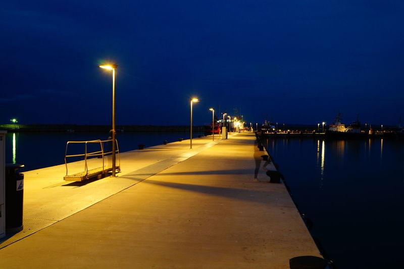 Harbour Langzeitbelichtung Lights And Shadows Sassnitzhafen Sasßnitz