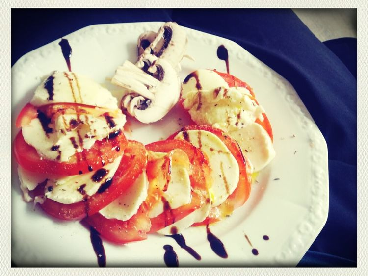 yet another Healthy Dinner Caprese