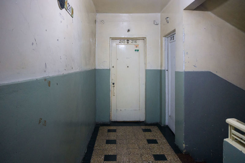 Entrance Ugly Abandoned Arcade Architecture Building Built Structure Closed Corridor Corridor View Dirt Domestic Room Door Empty Entrance Flooring Home Interior Indoors  No People Old Protection Safety Security Wall Wall - Building Feature
