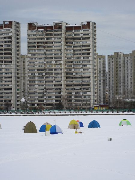 Ice fishing Cityscape Ice Moscow River Snow ❄ Winter Fishing Ice Cold Outdoor Architecture Building Exterior Built Structure City City Buildings Day Fishing Ice Fishing Huts Multi Colored No People Outdoors River Riverside View Sky Snow Tents Winter