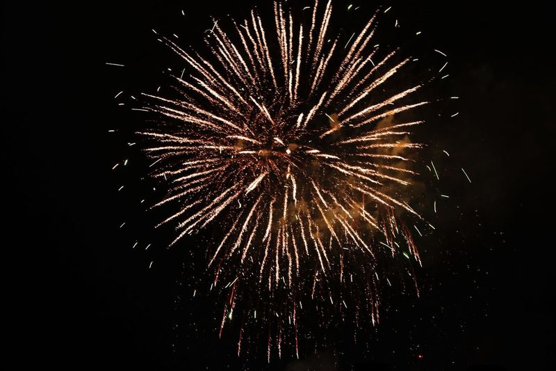 Beautiful firework Firework Night Motion Celebration Illuminated Arts Culture And Entertainment Long Exposure Firework Display Event Low Angle View Exploding Sky Glowing Firework - Man Made Object Blurred Motion Sparks Burning Nature Light