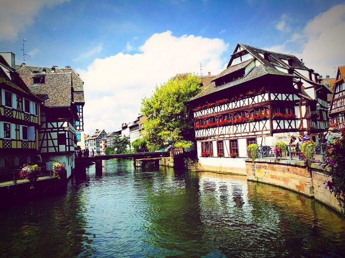 La Petite France, Strasbourg Maison à Colombages Colombages