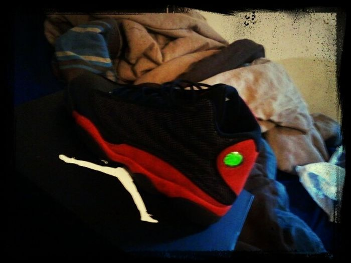 just uploadin an old pic of my 13s, They some heat
