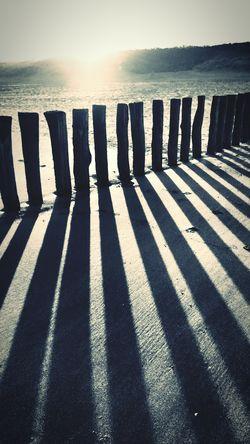 Cadzand Beach Sea Taking Photos Enjoying The Sun