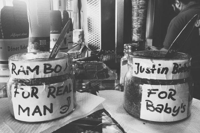 Welcome to Kottiwood. Berlin Blackandwhite Justin Bieber Rambo Spices Knoblauch Dürüm Food