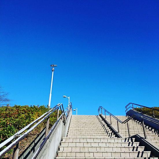 冬は空が青い。 イマソラ