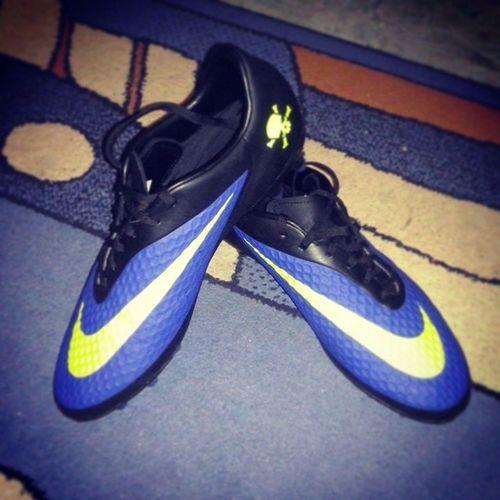 My new football boots :3 Nike Hypervenom Nikehypervenom Football boot boots footballboots footballboot my new footballboots followme followforfollow follow4follow